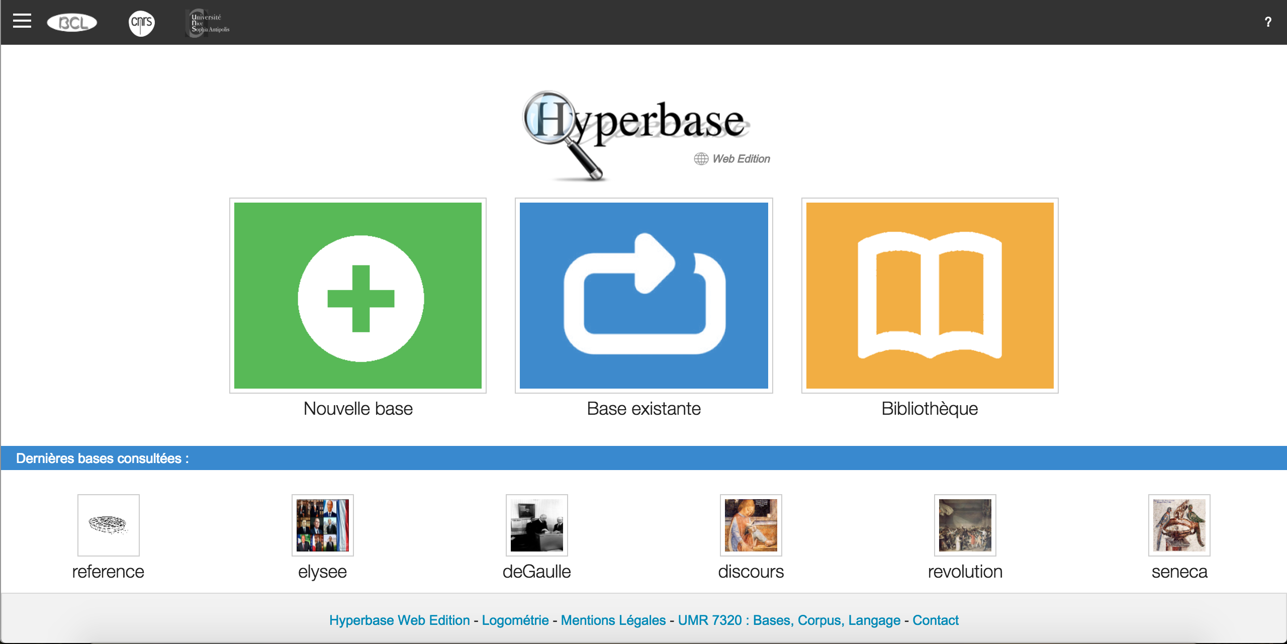 Hyperbase Web